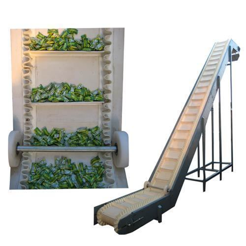Sidewall Cleated Belt Conveyor
