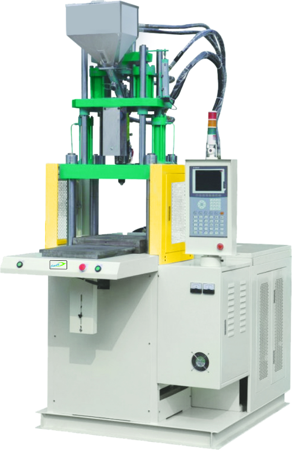 Single Station Slide Type Vertical Injection Moulding Machine