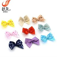 high quality garments fashinon accessories mini ribbon bow
