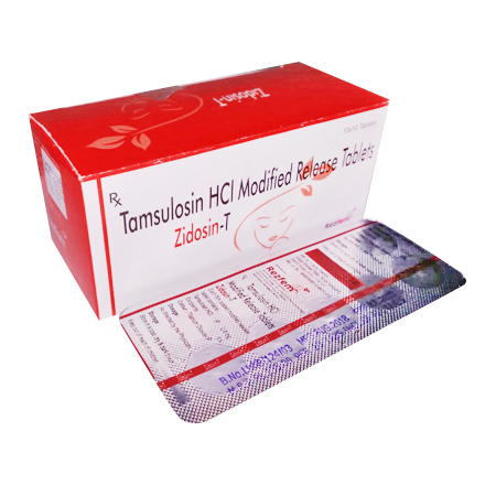 Tamsulosin HCI Modified Release Tablets