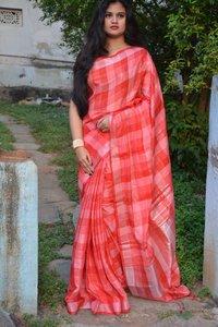 Linen Saree