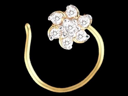 Diamond Nakshatra Nose Pin