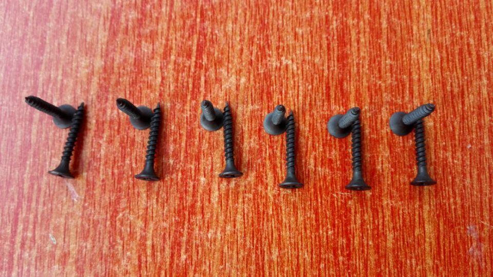 Black Drywall Screws