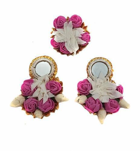 Flower Gotta Handmade Earring, Ring For Women & Girls