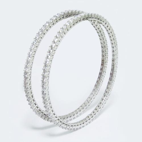 Silver Fashion Bangles