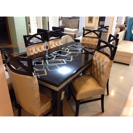 Designer Six Seater Dining Table