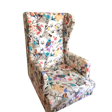 Printed Cover Living Room Chair