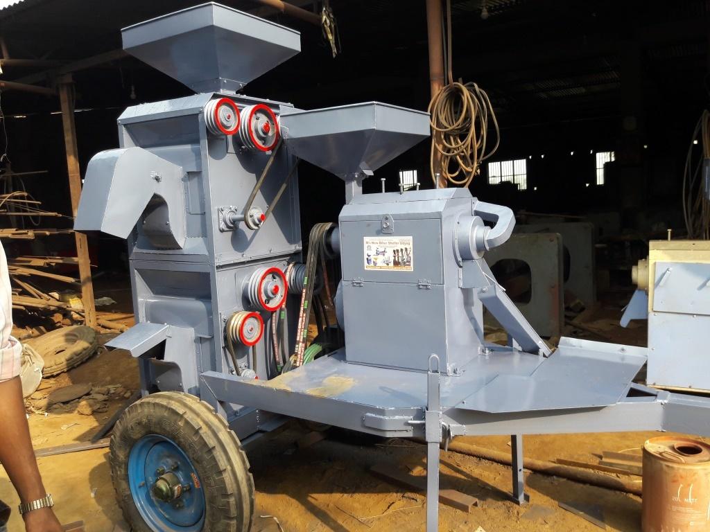 Mill Rice Mill Trolly set