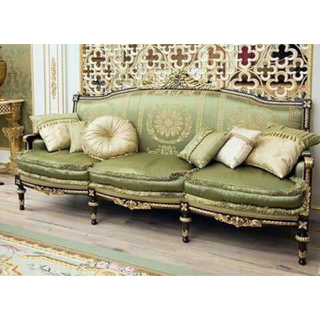 Wooden Carving Sofa