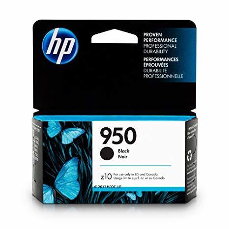 HP 950 BLACK INK CARRTRIDGE