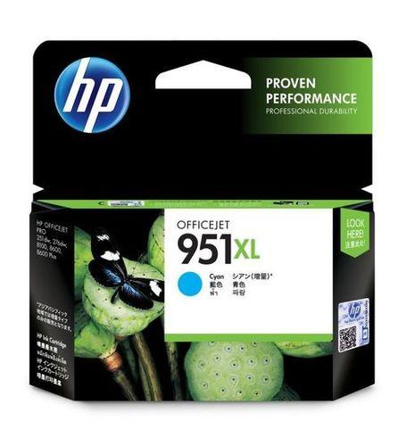 HP 951XL CYAN INK CARTRIDGE (CN046C)