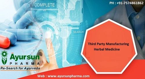 Third Party Manufacturing Ayurvedic Medicine franchise