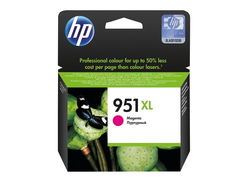 HP 951XL MAJENTA INK CARTRIDGE (CN047M)