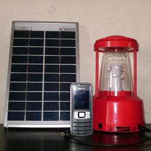 6B - 3B Solar LED Lantern