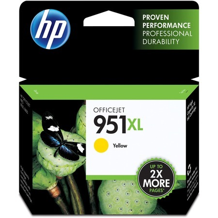 HP 951XL YELLOW INK CARTRIDGE (CN048Y)