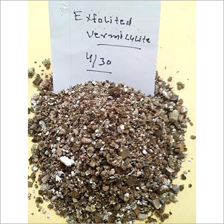 Vericulite exfolited 4-30
