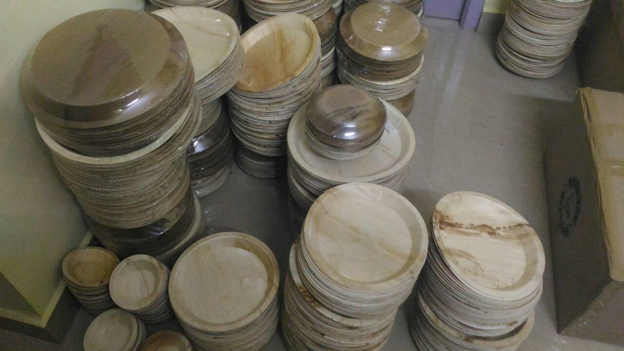 Arecanut Round Plate