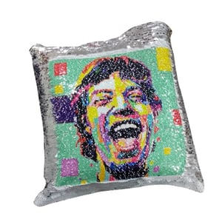 Silver Magic Pillow Sublimation