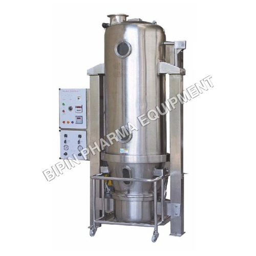 2.5 Kg To 500 Kg Fluidized Bed Dryer