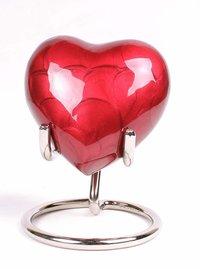 Heart Keepsake Funeral Urn