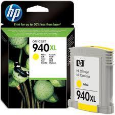 HP 940XL YELLOW INK CARTRIDGE (C4909AA)
