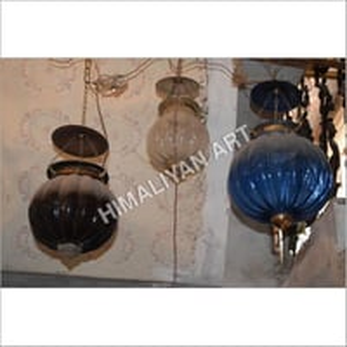 Glass Khabooja Lamp