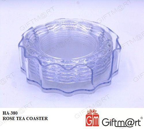 ROSE TEA COASTER