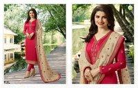 Silk Churidar Suit