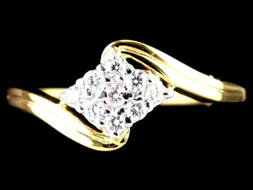 DIAMOND SQUARE RING