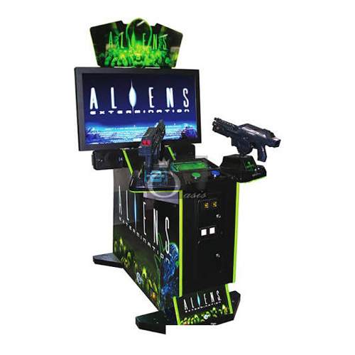 Alien Arcade Game Machine
