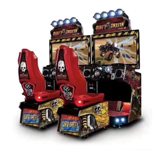 Dirty Drivin Arcade Racing Game