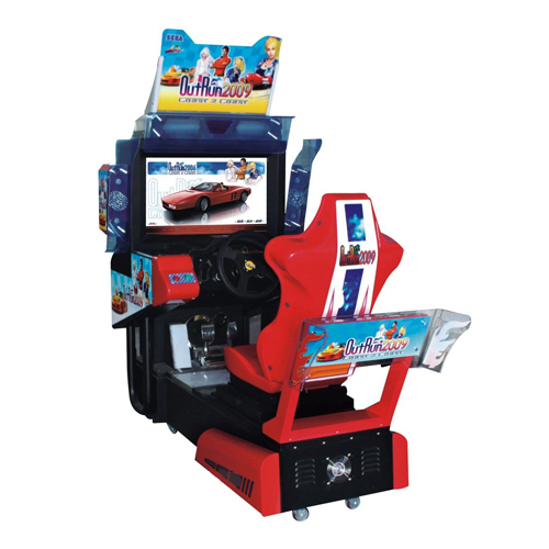 Out Runner Single Car Game