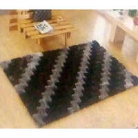 Black 3D Carpets