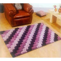 Purple 3D Carpets