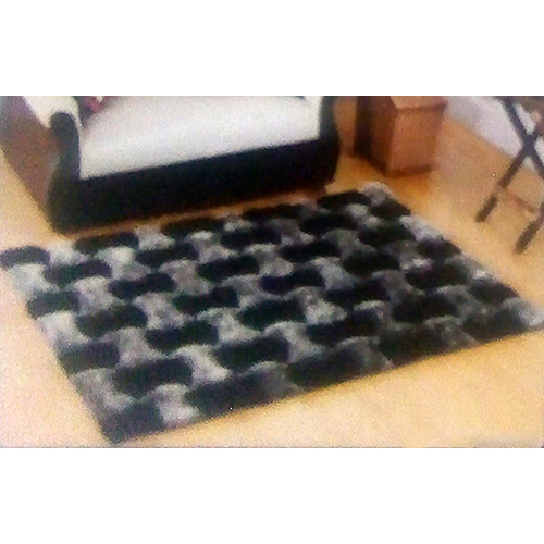 Black 3D Designer Carpets