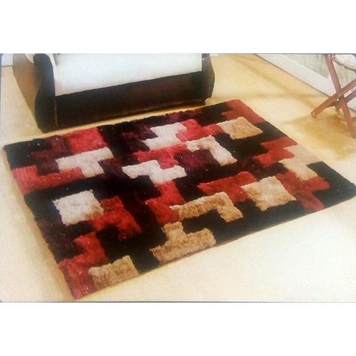 Maroon 3D Designer Carpets