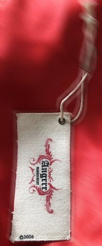 Canvas Fabric Hang Tag