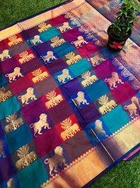 Trendy Kanchipuram Silk Sarees