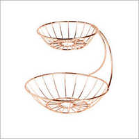 Copper Fruit Basket