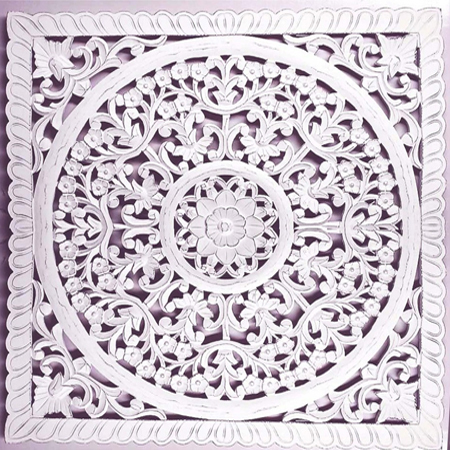 Wooden Carved Wall Art Panel