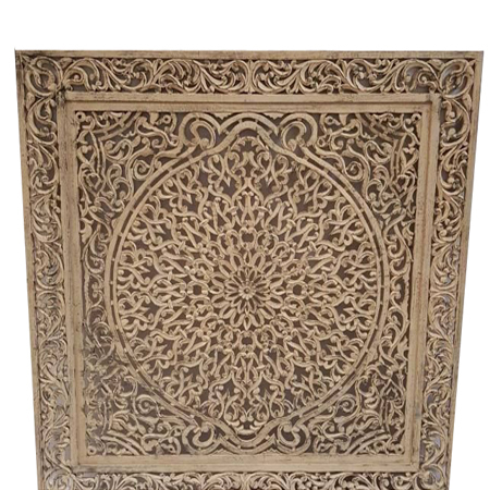 Hand Carved MDF Decorative Panel
