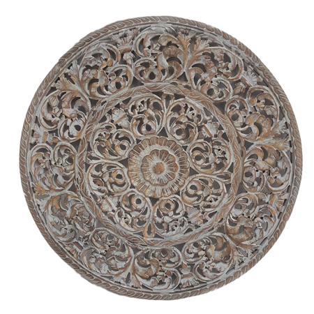 Round Carved MDF Panel