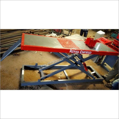 Stainless Steel Two Wheeler Lift