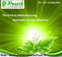 Third Party Manufacturing Herbal Ayurvedic Medicine Franchise
