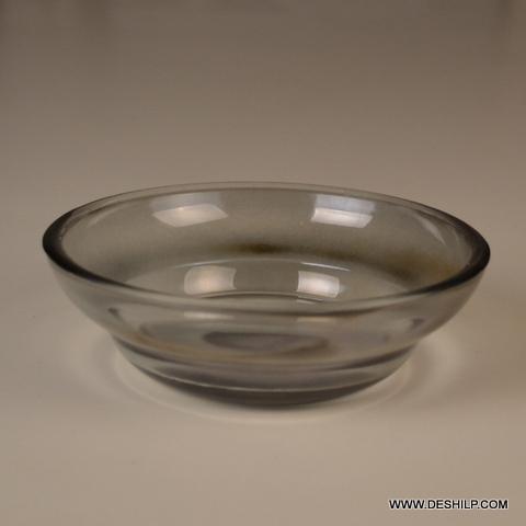 Round Storage Bowl Set Glass Nesting Bowl Set