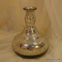 BEAUTIFUL DECOR GLASS FLOWER POT