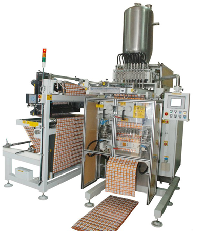 12 Line Multi Track Liquied Packing Machine