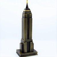 Empire State Building Miniature Model
