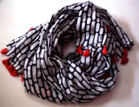 Leopard Cotton Printed Scarf
