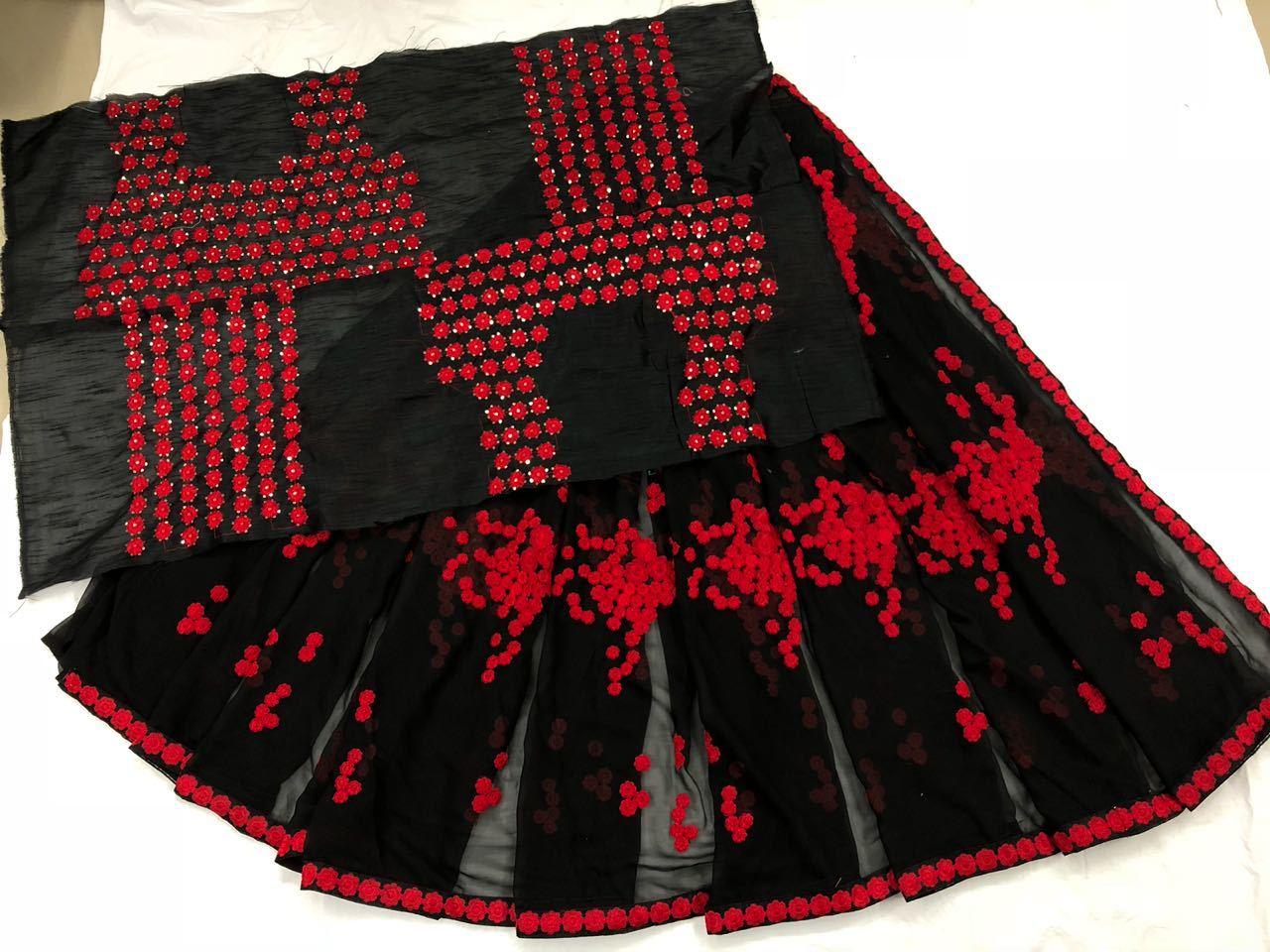 Fancy Designer Stylish Latest Royal Black Saree